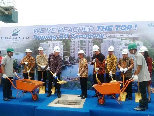 Topping Off Apartemen Citralake Suites 2